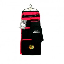 Chicago Blackhawks Scarf Sets -(Pattern May Be Different Than Pictured) Knitted Scarf And Glove Sets - Series2 Striper Set - $12.50 Per Set