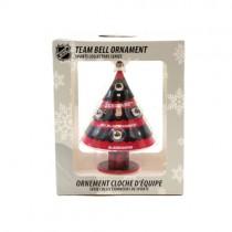 Chicago Blackhawks Ornament - Tree Bell Style Ornament - 12 For $30.00