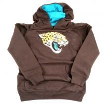 Jacksonville Jaguars Sweatshirts - Black Kangaroo Pocket Head Logo - Youth/Kids Assorted Sizes - 3 For $45.00