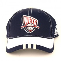 New Jersey Nets Caps - Blue/White 2Tone Adidas Hats $5.00 Each