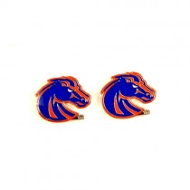 Special Buy - Boise State Earrings - POST Amco Style - 12 Pair For $30.00