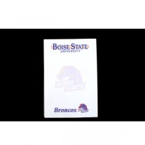 """Boise State Note Pads - 40 Sheets Per Pad - 5""""x8"""" - 24 Pads For $12.00"""