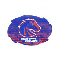 """Boise State Magnets - 5"""" Swirl Wordmark Style - 12 For $18.00"""