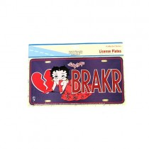 Wholesale License Plates - Betty Boop License Plates - $2.50 Each