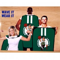 "Opportunity Buy - Boston Celtics Flags - 36""x47"" Fan Flags - 12 For $48.00"