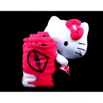 """Denver Broncos Blanket - Hello Kitty 15"""" Plush Hugger With Blanket - $10.00"""