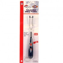 Closeout - Denver Broncos Talking BBQ Forks. 12 Per Display. (May Need Batteries) - 12 Forks For $12.00