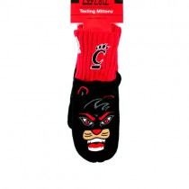 Cincinnati Bearcats Mittens - Texting Style - 12 Pair For $30.00