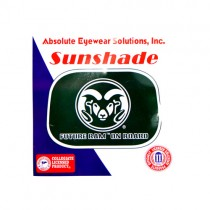 Colorado State Rams Sun Shades - Passenger Window Style - 12 For $12.00