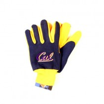 Cal Merchandise - Blue/Yellow Grip Gloves - 12 Pair For $30.00