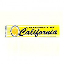 "Cal State Golden Bears Bumper Stickers - 3""x12"" Win Style - 12 For $18.00"