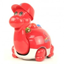 "Overstock - St. Louis Cardinals Toys - 9"" Toy Lightup Dinosaur - 4 For $20.00"
