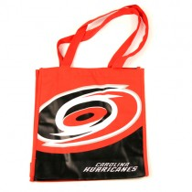Closeout - Carolina Hurricanes - Canvas Tote - 6 Bags For $12.00