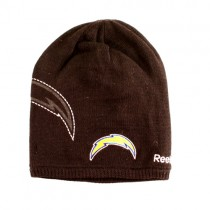 Overstock - Los Angeles Chargers Beanies - Black Onfield Shadow Style - 12 For $60.00