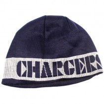 Overstock - Los Angeles Chargers Beanies - Big Band Print Beanies - 12 For $60.00