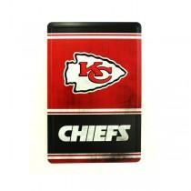 """Blowout - Kansas City Chiefs Tin Signs - 12""""x8"""" - $3.50 Each"""