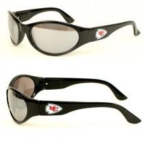 Kansas City Chiefs Sunglasses - Black Solid Style Sunglasses - 12 Pair For $48.00