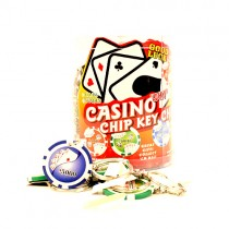 Blowout - 2 48Count Tubs - Poker - Chip Keychain - Counter Top Display Tub - $10.00