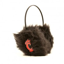 Seaonsal Closeout - Cincinnati Bearcats - Black Fuzzy Earmuffs - 12 Earmuffs For $36.00