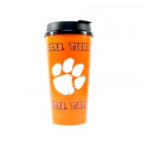 Clemson Tigers Tumbler- 32OZ Tumbler With Snap Tight Lid - 2 For $8.00