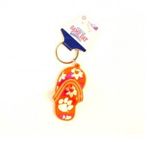 Clemson Tigers Keychains - Flip Flop Style - 12 For $18.00