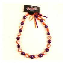 """Clemson Tigers Necklaces - 18"""" KuKui Nut Necklaces - $5.00 Each"""