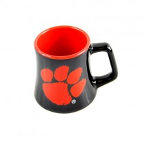 Clemson Tigers Mini Mugs - SERIES2 - 2OZ Ceramic Shot Mugs - 12 For $36.00