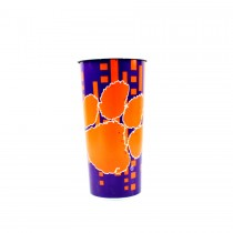 Clemson Tigers Mugs - Made In USA - 16OZ Insulated Travel Mugs - 12 For $48.00