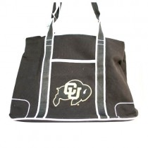 Colorado Buffalos Purses - Black - The Flat Bottom Series - 2 For $20.00