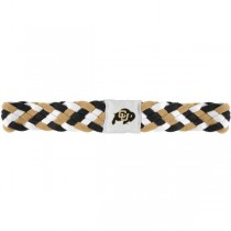 Wholesale Hair Products - Colorado Buffalos Braided Headbands - 12 For $24.00
