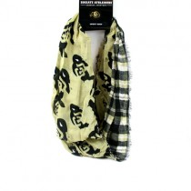 Colorado Buffalos Scarves - Tartan Logo Infinity Style - 2 For $15.00