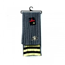 Colorado Buffalos Scarves - VARSITY Style - 12 For $90.00
