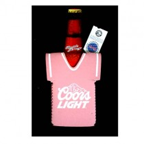 Overstock - Coors Light Huggies - PINK Jersey Style Bottle Huggies - 12 For $12.00