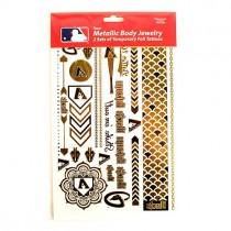 Opportunity Buy - Arizona DBacks Tattoos - 2Pack Body Jewelry - 12 Sets For $24.00