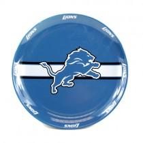 "Detroit Lions Plates - 11"" Ceramic Dinner Plates - 4 For $20.00"