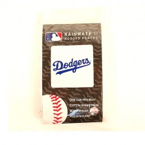 Los Angeles Dodgers Poncho - Hooded Insert Style - 12 For $30.00