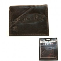 Anaheim Ducks Wallets - BROWN Tri-Fold Leather Wallets - 12 Wallets For $84.00