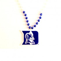 "Duke Beads - 22"" Team Bead With Medallion - $3.50"