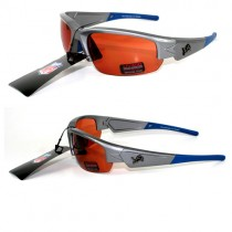 Detroit Lions Sunglasses - Dynasty Style - Polarized - Silver Frame - 12 Pair For $48.00
