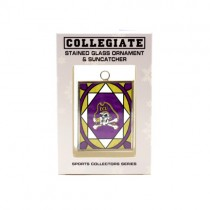 ECU Pirates Ornament - Stained Glass Suncatcher Style Ornament - 12 For $30.00