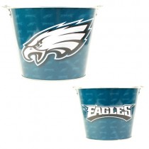 Philadelphia Eagles Buckets - Full Wrap - (Pattern May Be Different Then Pictured) - $6.50 Each