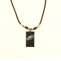 Philadelphia Eagles Necklaces - Diamond Plate Style - 12 For $39.00