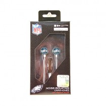 Philadelphia Eagles Headphones - The MICRO Line - Earbuds With Microphone - 12 For $54.00
