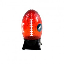 "Philadelphia Eagles Night Light - 8"" Table Top Football Style Night Light - 12 For $36.00"