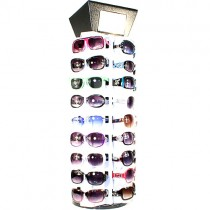 """The 36 Fashion Package"" - Sunglass Rack - 36 Count Rack With 60 Pair Of Our Best Assorted Ladies Sunglasses $200.00"