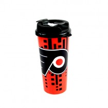 Philadelphia Flyers Mugs - 16OZ Double Walled - Made In The USA - 12 For $48.00