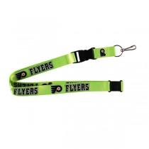 Philadelphia Flyers Lanyards - Premium 2-Sided FULL Neon - 12 For $30.00