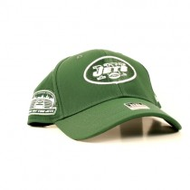 New York Jets Caps - Green L/XL Flex Fit Style - Stadium Logo On Side - $7.50 Each