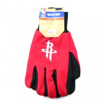 Houston Rockets Gloves - Grip Style - 12 Pair For $36.00