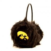 Iowa Hawkeyes Merchandise - Black Fuzzy Earmuffs - 12 Pair For $72.00